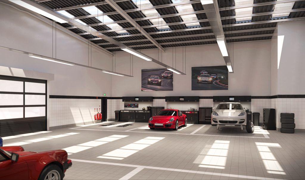 Porsche architects