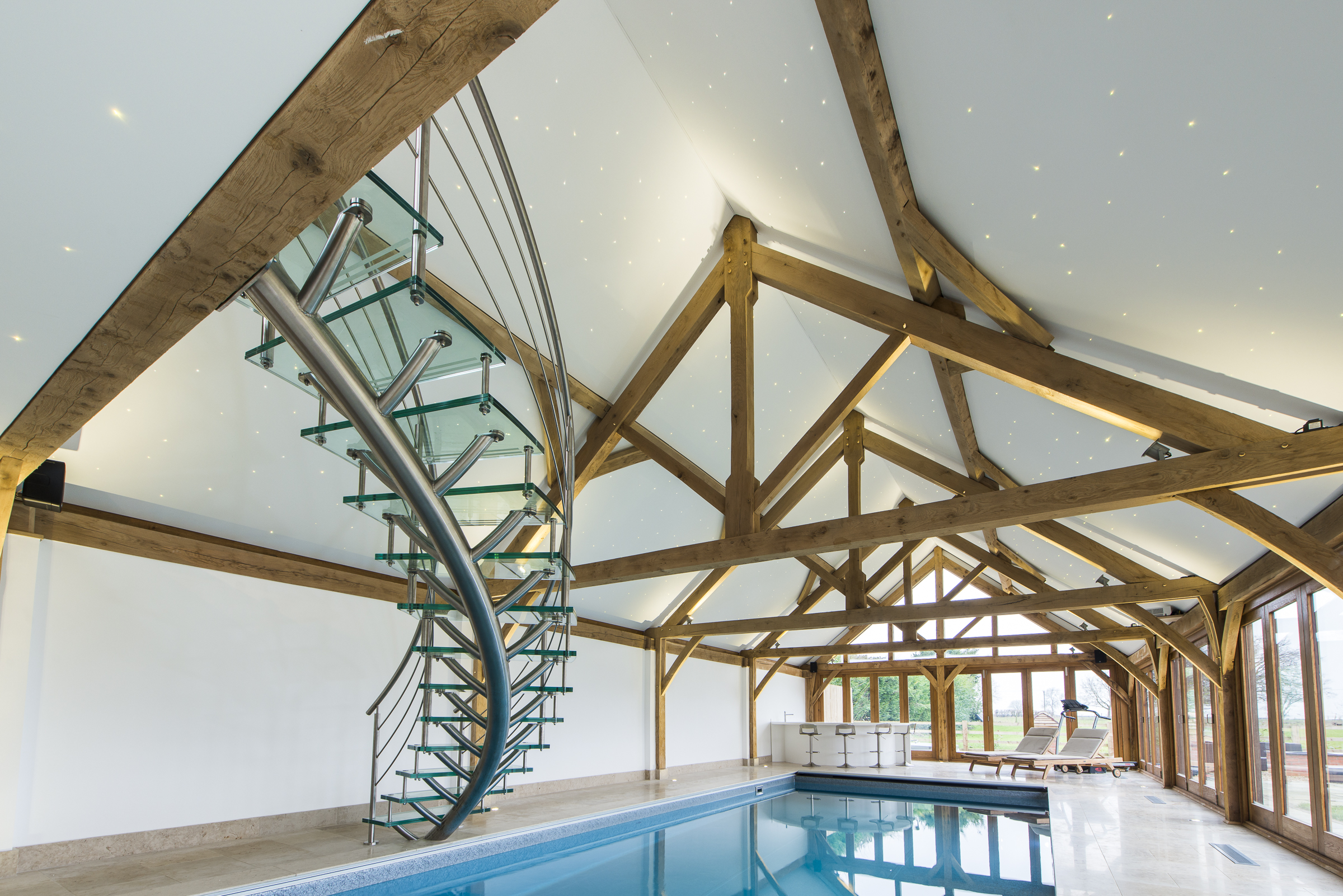 pool house case study