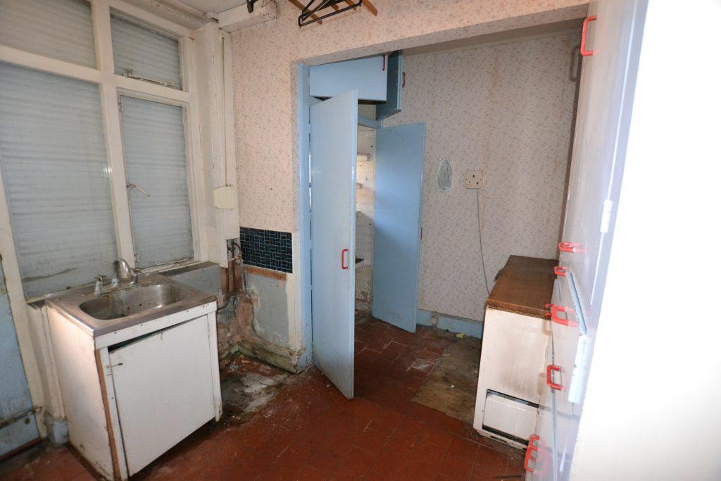 Original kitchen space.