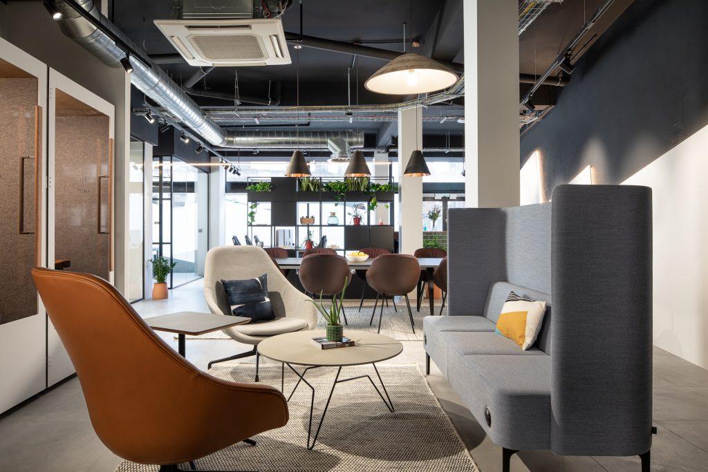 Flagship Bristol Office Sofa Area