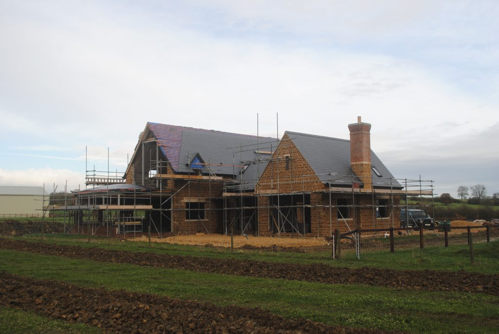 A new build home in in Leicestershire by Walters Architects