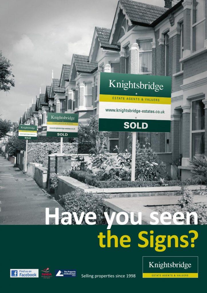 Knightsbridge Sold Sign