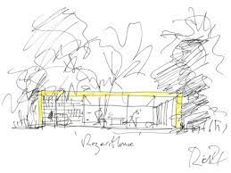 Sketch of parents house