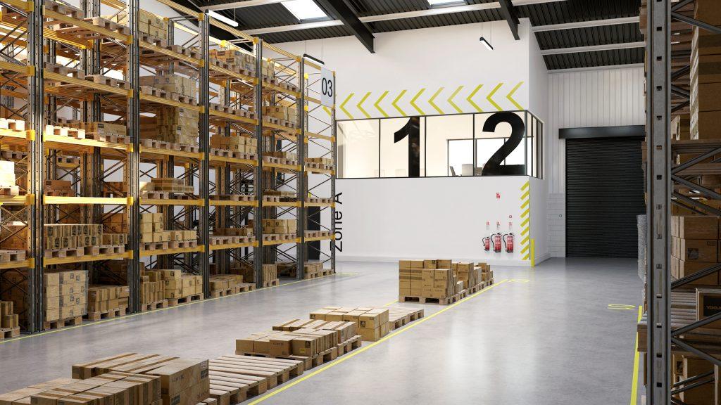 Trade Park Warehouse Internal