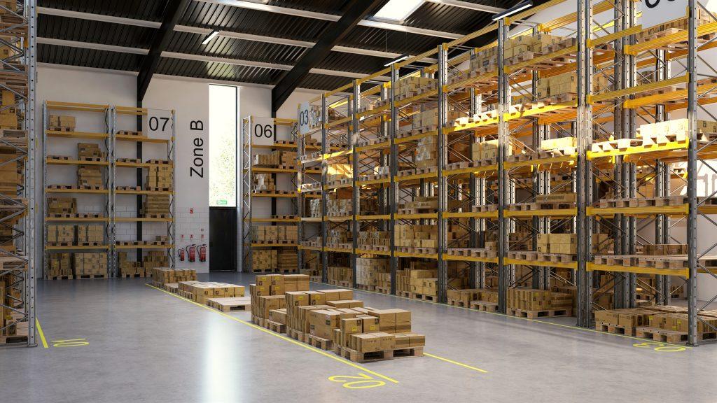 Trade Park Warehouse Area