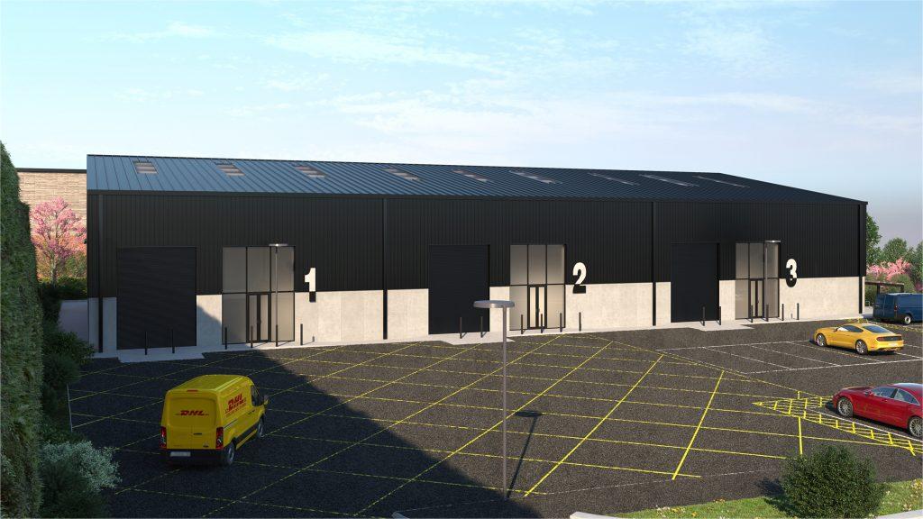Trade Park Warehouse External View