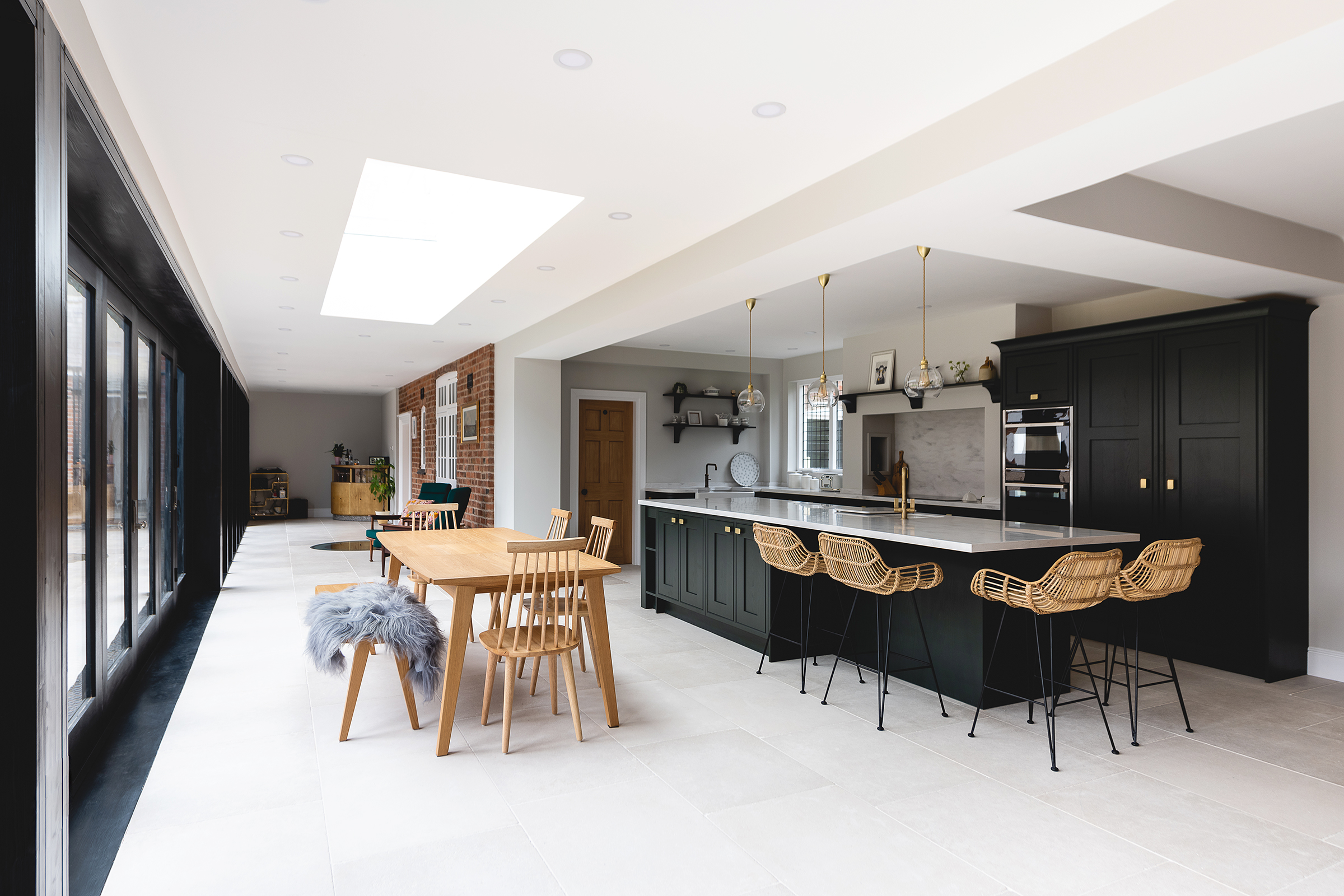 Kirbymuxloe Kitchen Side Angle