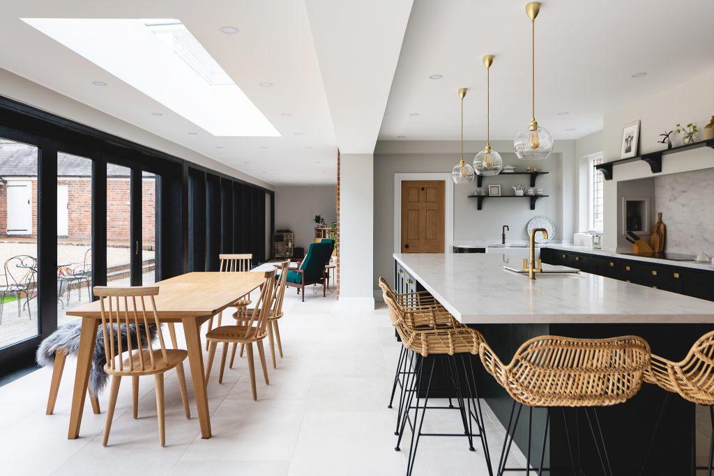 Kirbymuxloe Kitchen & Dining Area