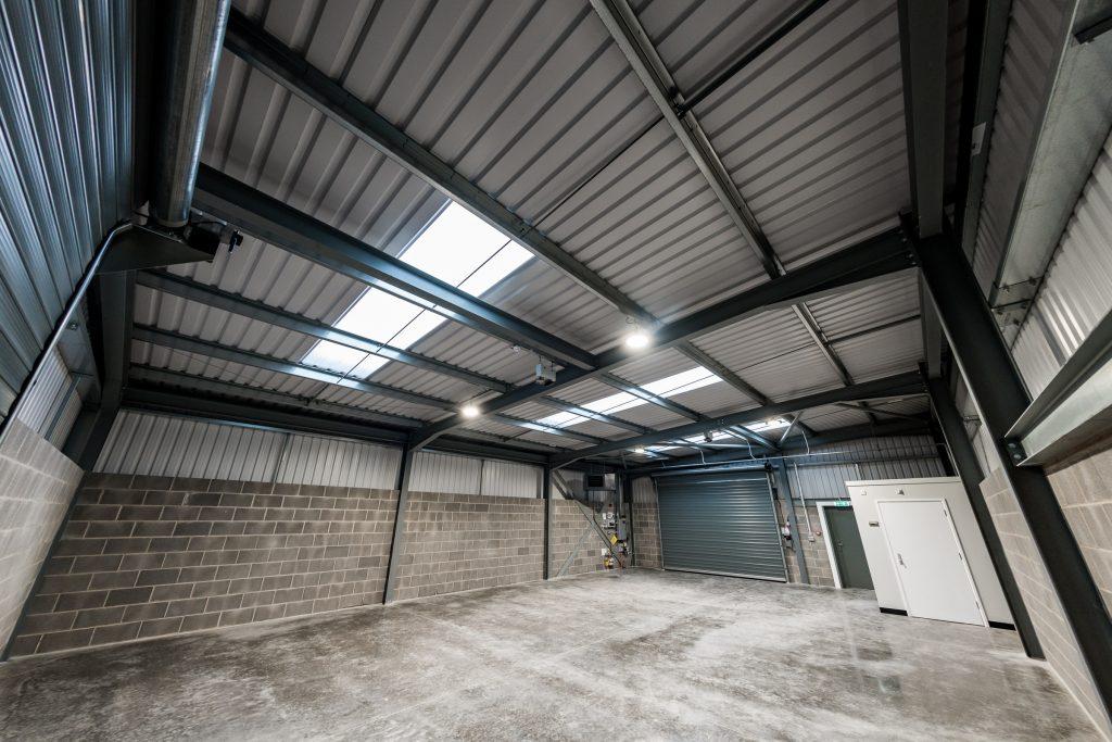 Small Empty Warehouse