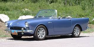 Sunbeam Alpine as featured in Dr. No