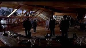 Criminal meeting room in Goldfinger