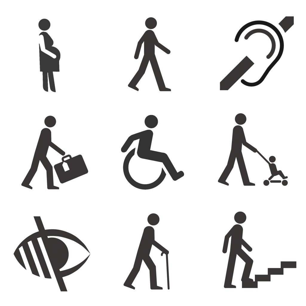 Poster highlighting disabilities